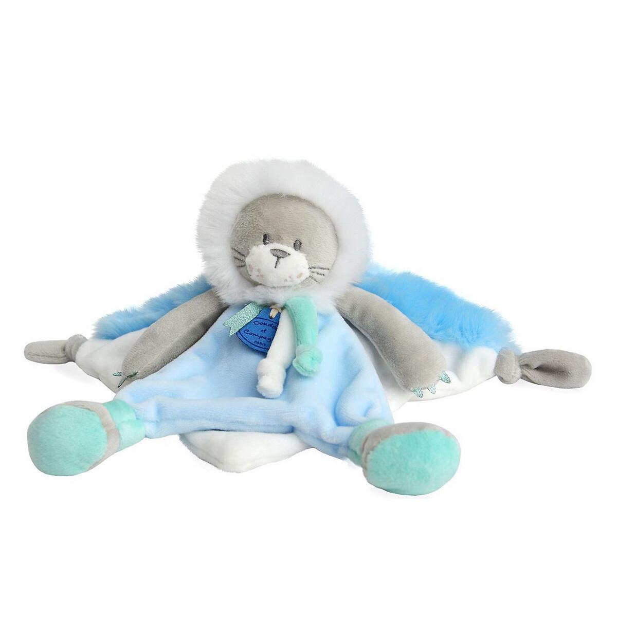An image of Doudou Et Compagnie Newborn Artik'cool Lion Comforter - 20cm