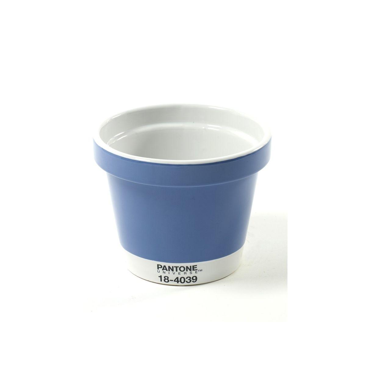 Petit Pot de fleurs Pantone Bleu