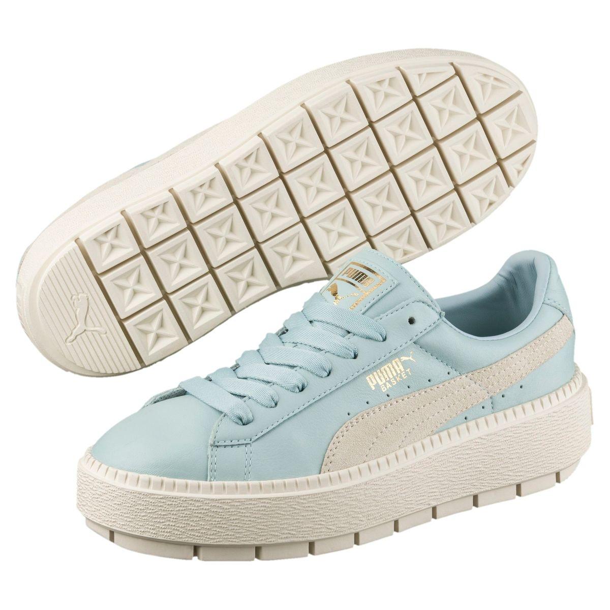 Chaussure Basket Platform Trace Blocks pour femme