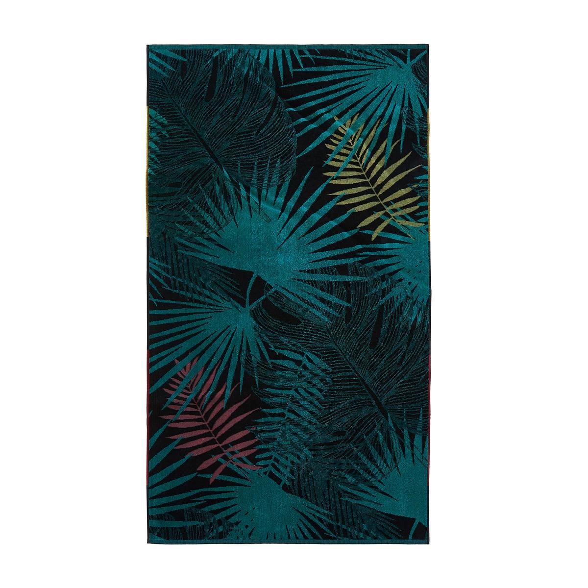 Покрывало La Redoute Пляжное из махровой велюровой ткани Toucan единый размер разноцветный комплект из банных принадлежностей la redoute из махровой ткани гм scenario единый размер белый