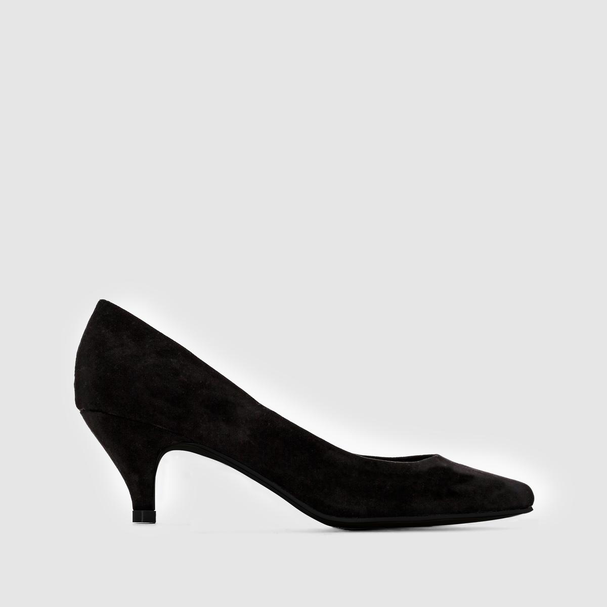 ТуфлиМарка : CASTALUNA.Модель подходит : для широкой ступни.Верх : искусственная замша.Подкладка : парусинаСтелька : кожа на пористой основе. Подошва : нескользящий эластомер.Высота каблука : 6  смПреимущества : красивые тонкие каблуки<br><br>Цвет: бежевый,синий,черный,черный/ черный<br>Размер: 39.40.41.44.45.39.42.43.40.42.44.38.40.41.38.40.39