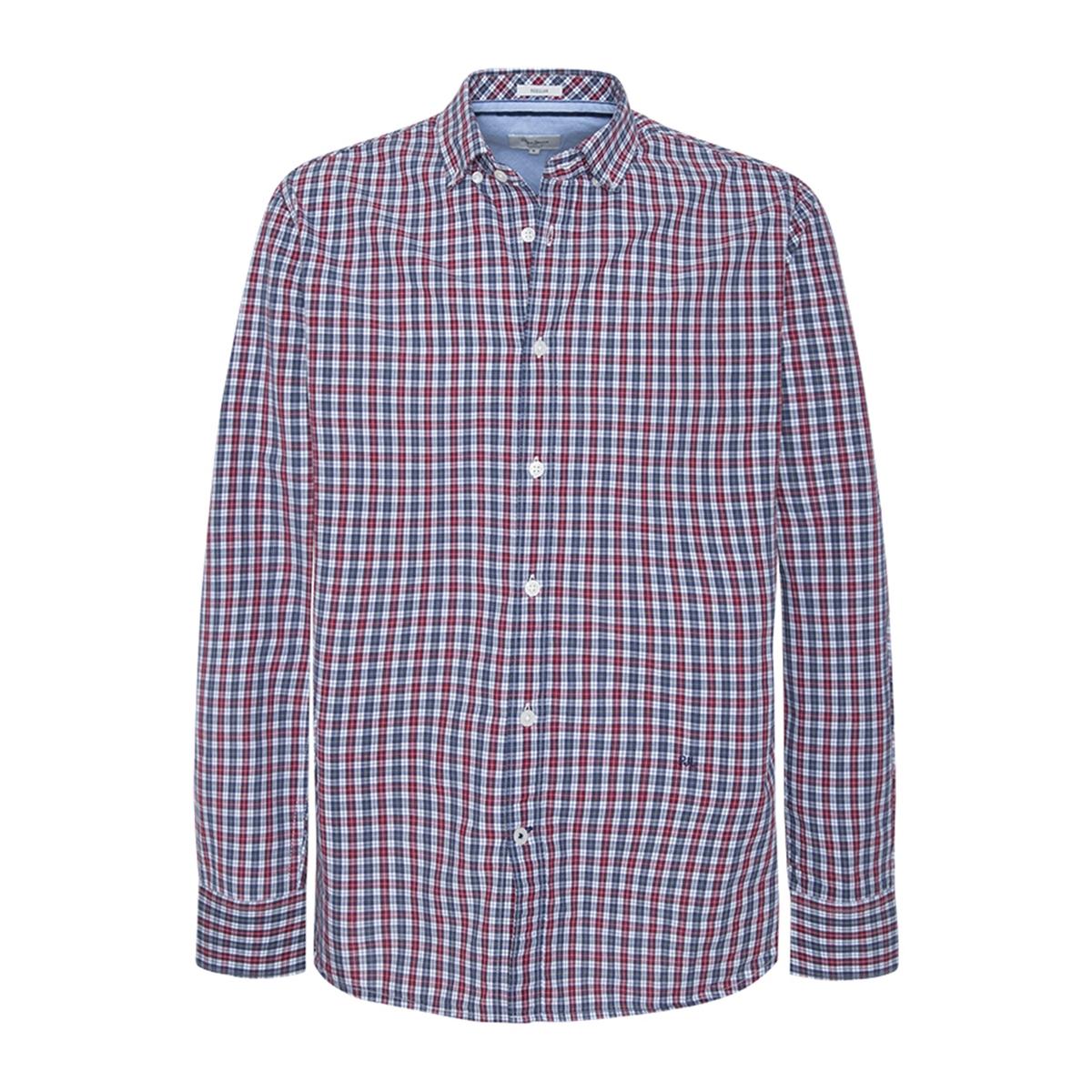 Camisa recta a cuadros Thomas