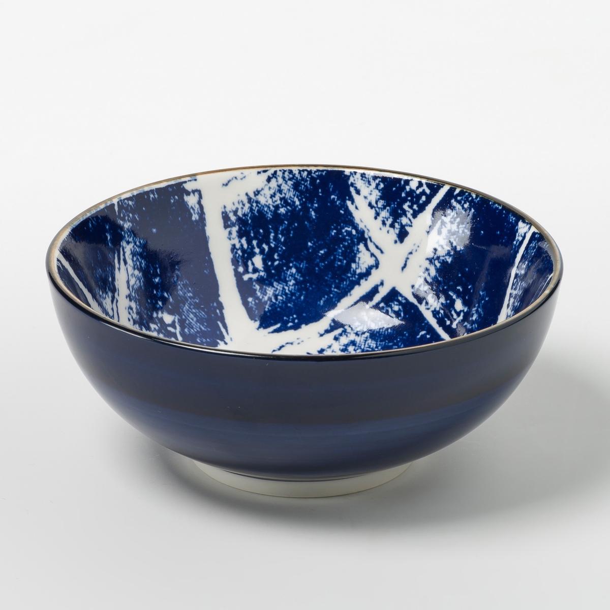 Комплект из 4 мисок из керамики Malado от La Redoute
