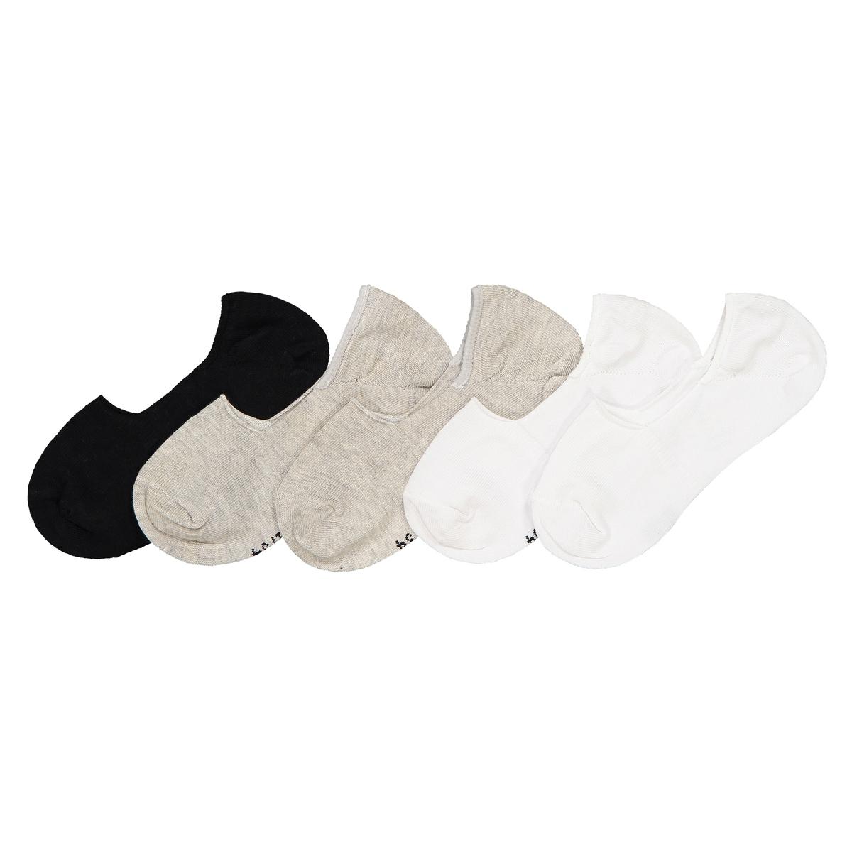Комплект из пар коротких La Redoute Носков размеры - 31/34 серый комплект из пар носков la redoute размеры 23 26 черный