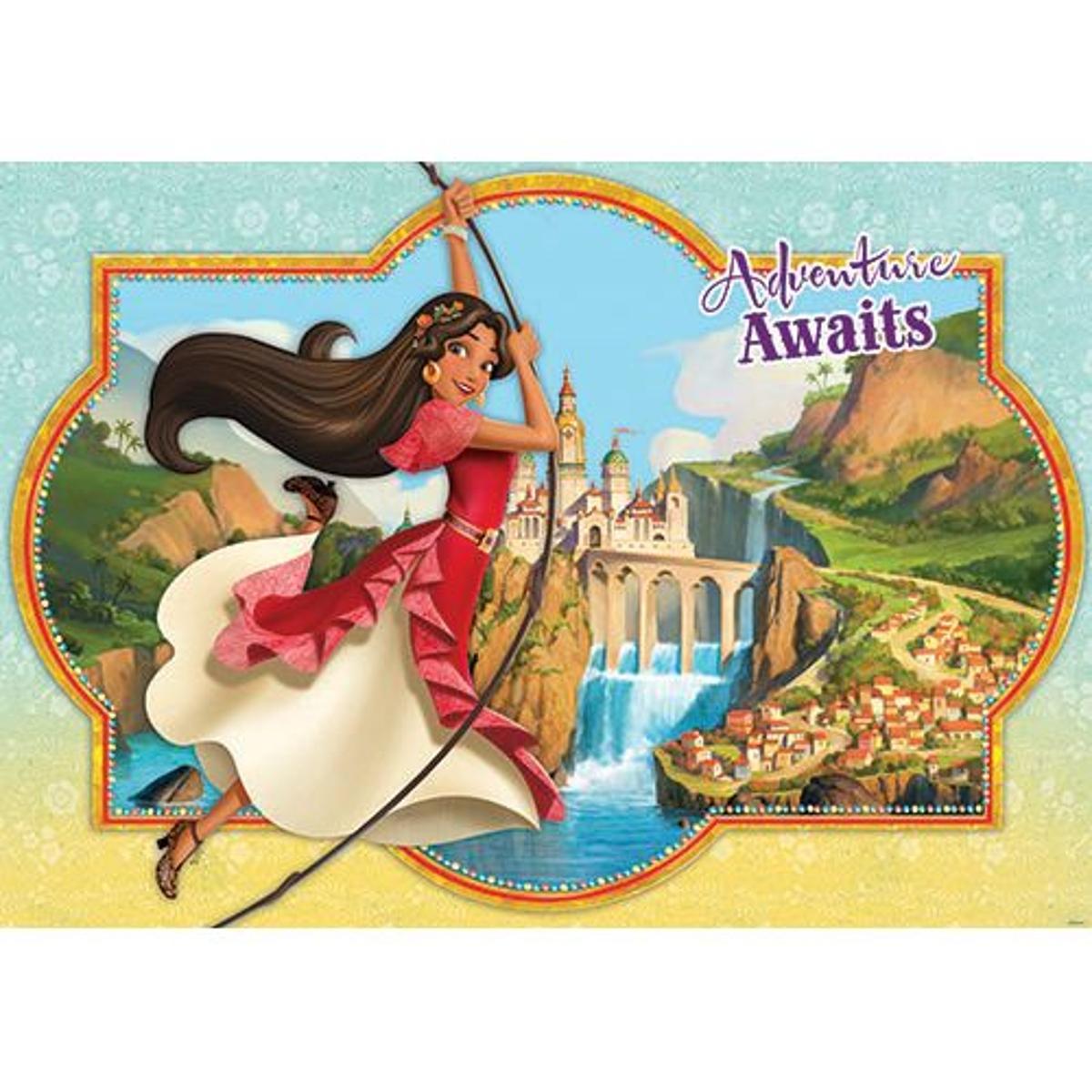 papier peint Disney Elena d'Avalor- 208 x 146 cm