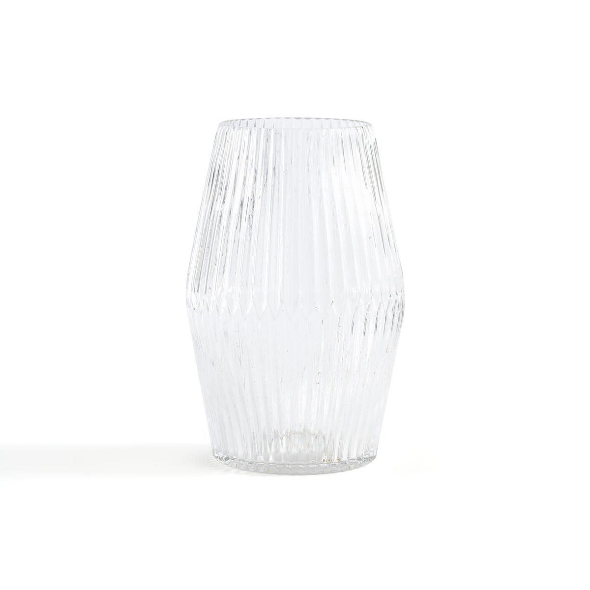 Ваза LaRedoute Стеклянная цилиндрической формы Afa единый размер другие графин laredoute из дутого стекла calebasse единый размер другие