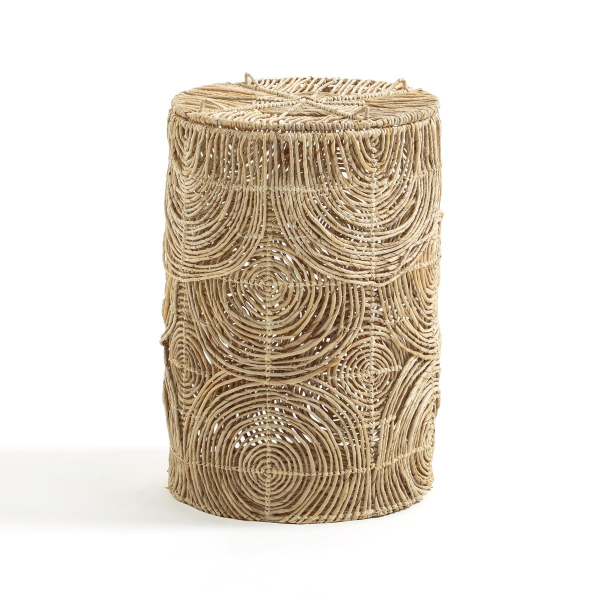 Корзина La Redoute Для белья В см из плетеной манильской пеньки Orphe единый размер бежевый комплект плетеной мебели kvimol км 0064