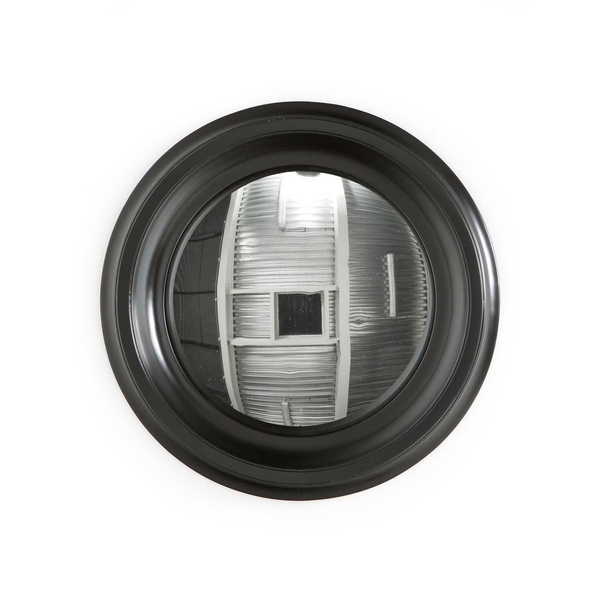 Зеркало LaRedoute Чародейки круглое диаметр 43 см Samantha единый размер черный 3 картины laredoute wekoso единый размер черный