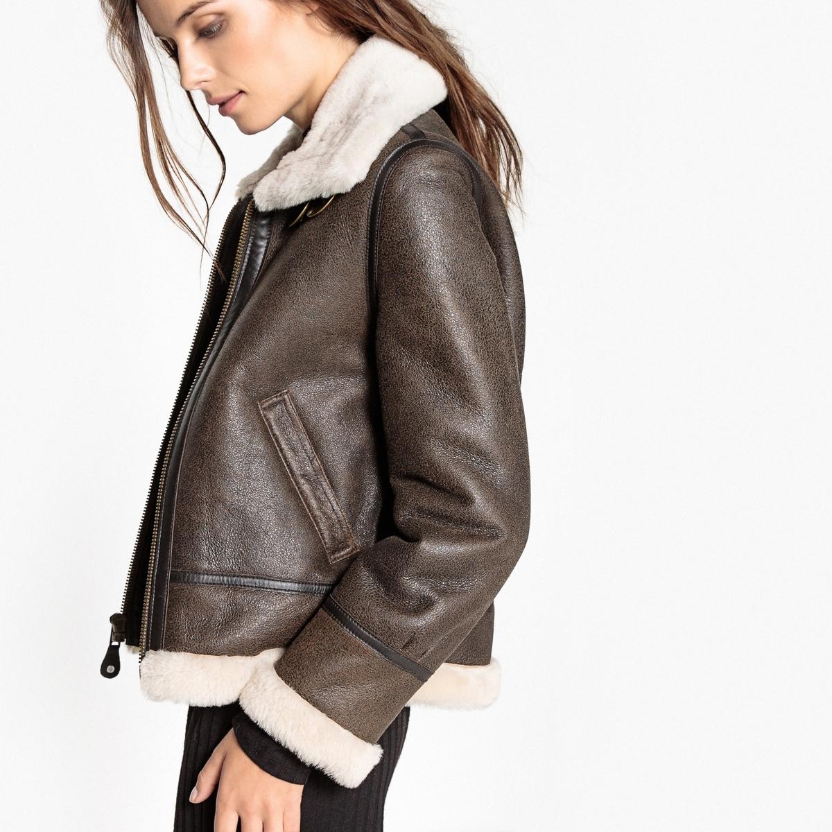 Куртка кожаная Bombardier LCW 1257Описание:Великолепный женский блузон из натуральной кожи LCW 1257 от SCHOTT. Этот блузон на молнии надежно защитит вас от холода этой зимой .Детали •  Длина : средняя •  Воротник-поло, рубашечный •  Застежка на молниюСостав и уход •  100% кожа •  Следуйте советам по уходу, указанным на этикетке<br><br>Цвет: каштановый<br>Размер: M