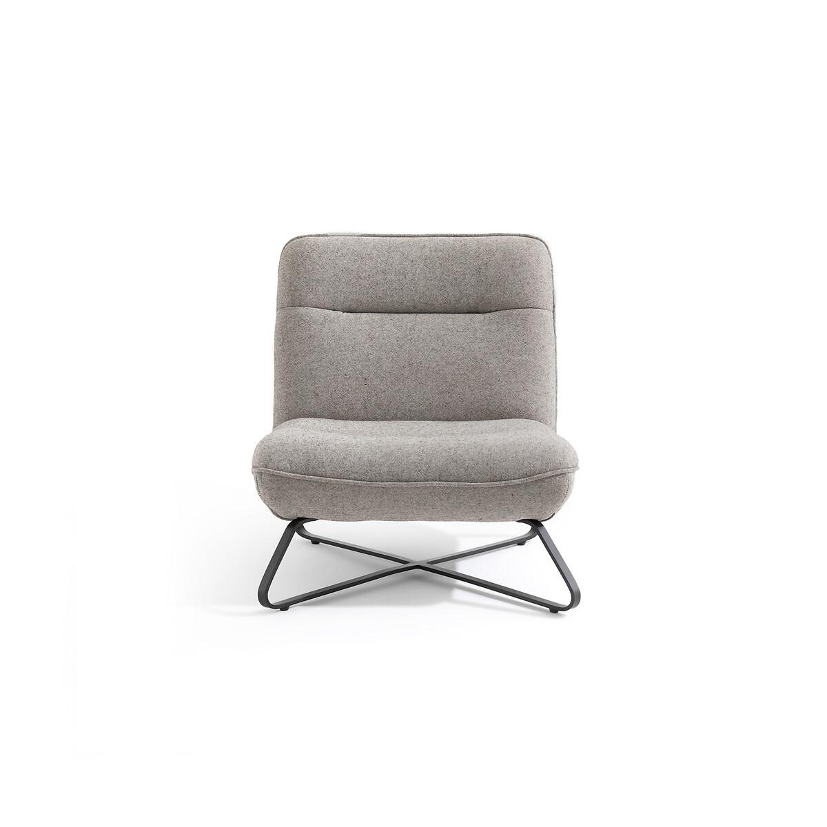 Кресло LaRedoute Детское из хлопка Helma единый размер серый