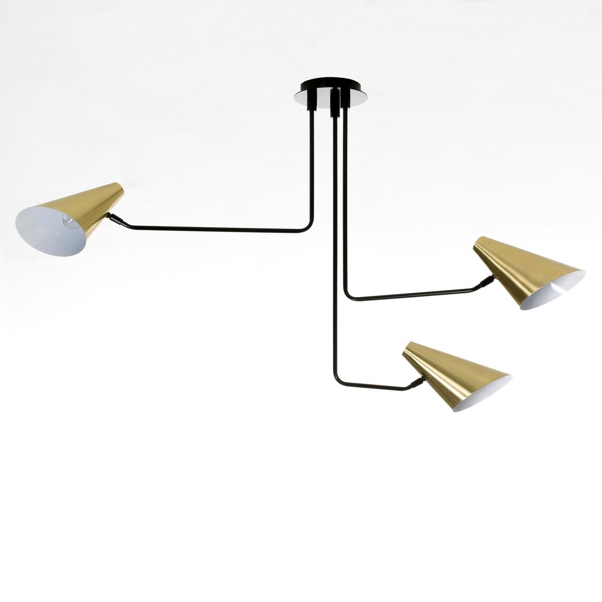 Светильник с 3 регулируемыми лапками Bar?a<br><br>Цвет: латунь<br>Размер: единый размер