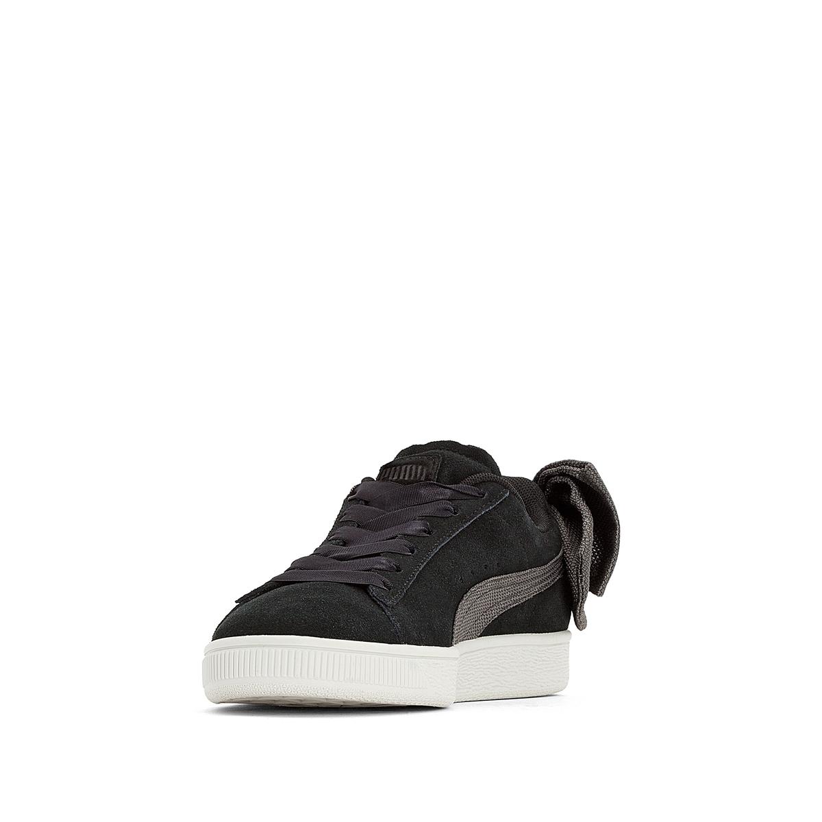 Imagen secundaria de producto de Zapatillas de piel Suede Bow Wn's - Puma