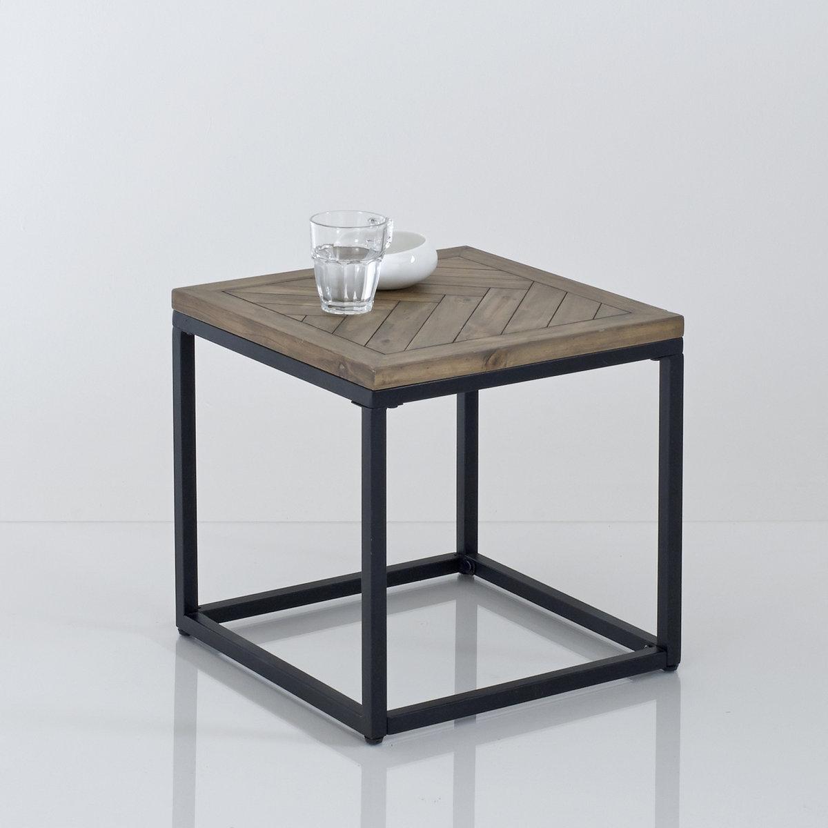 Столик из металла и дерева, В.40 см, Nottingham столик из металла и дерева h высота 60 см nottingham