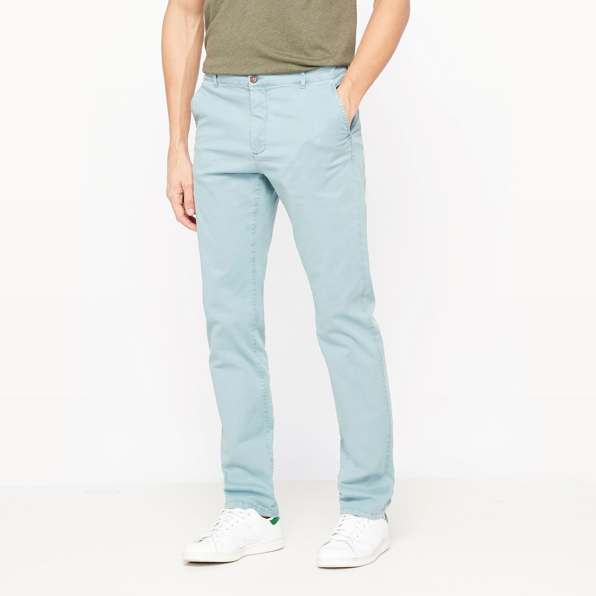 Брюки-чино зауженные брюки чино