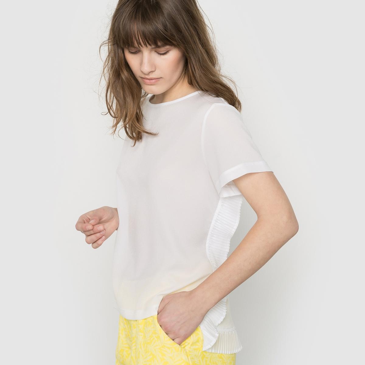 Блузка с воланами POLLY PLAINS