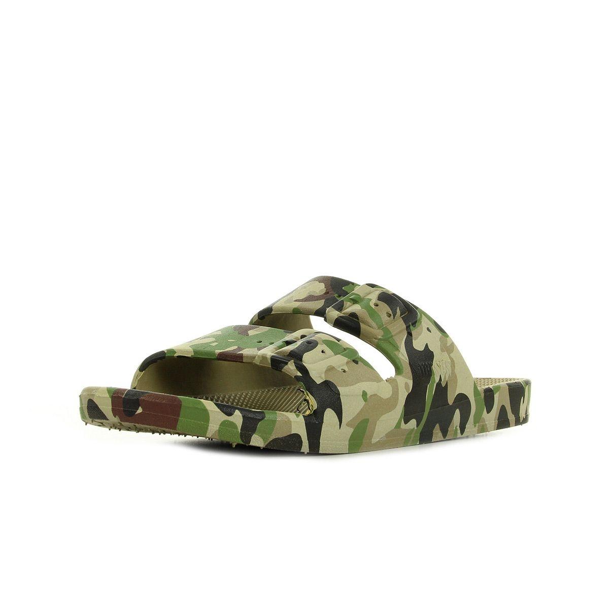 Sandales imprimé Army