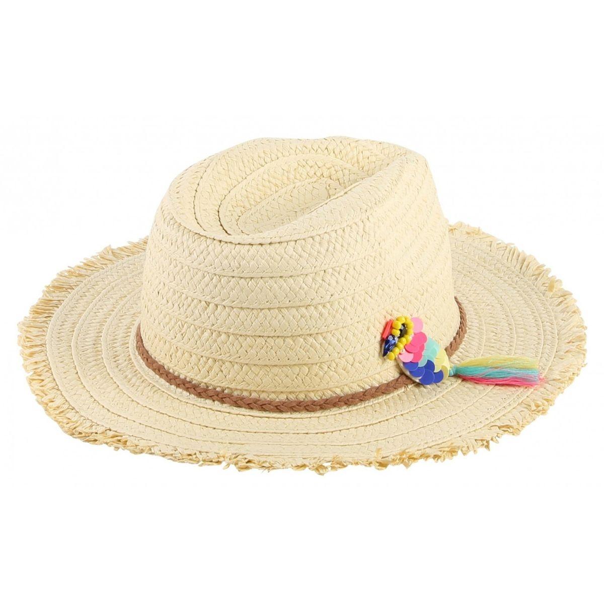 Chapeau de paille enfant