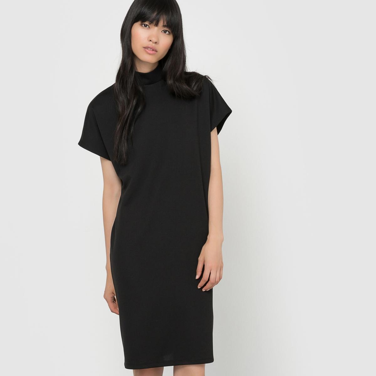 Платье прямого покрояСостав и описание:     Материал        95% полиэстера, 5% эластана     Марка        VILA          Уход     Соблюдайте рекомендации по уходу, указанные на этикетке<br><br>Цвет: красный,черный<br>Размер: XS.S.XS