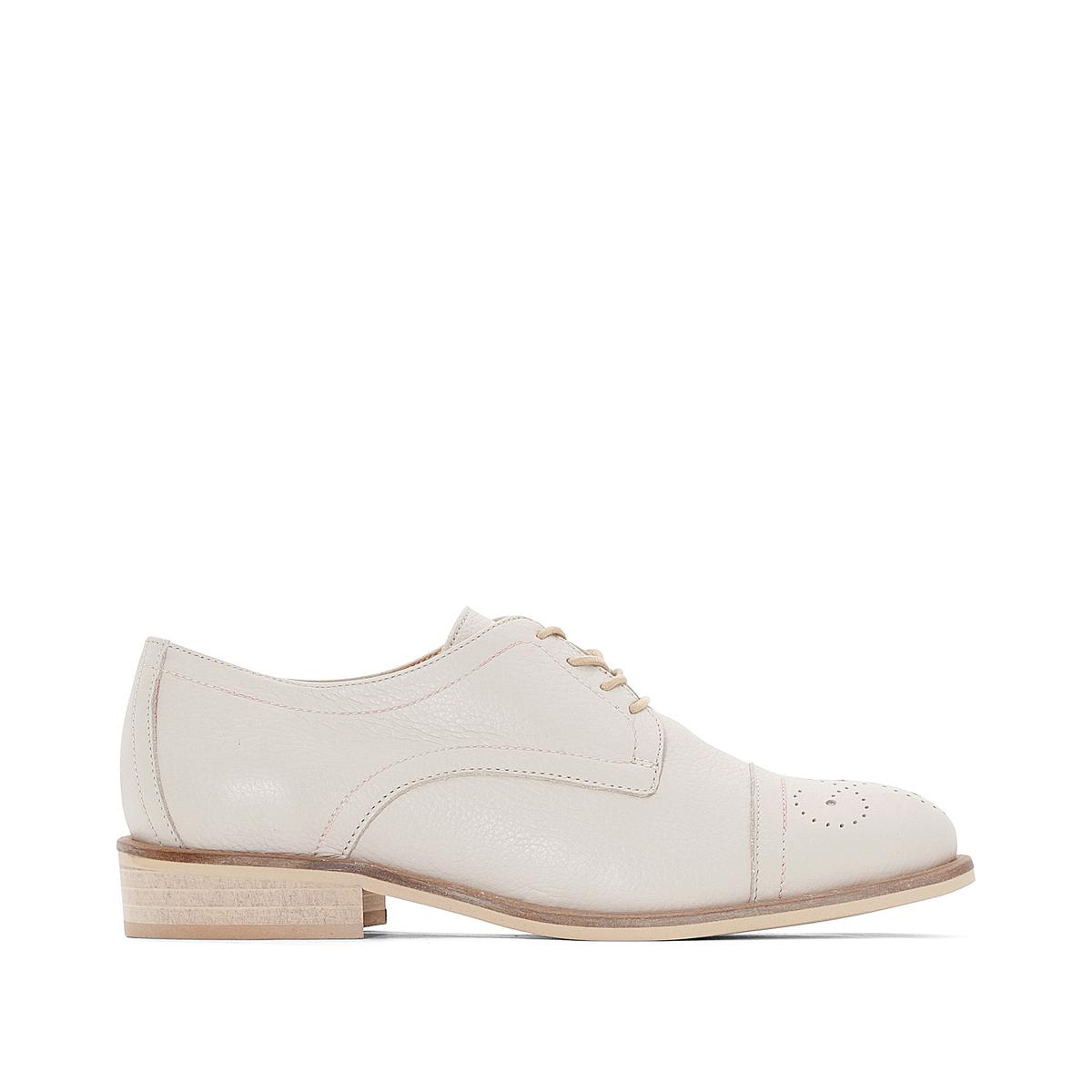 Ботинки-дерби кожаные Marette