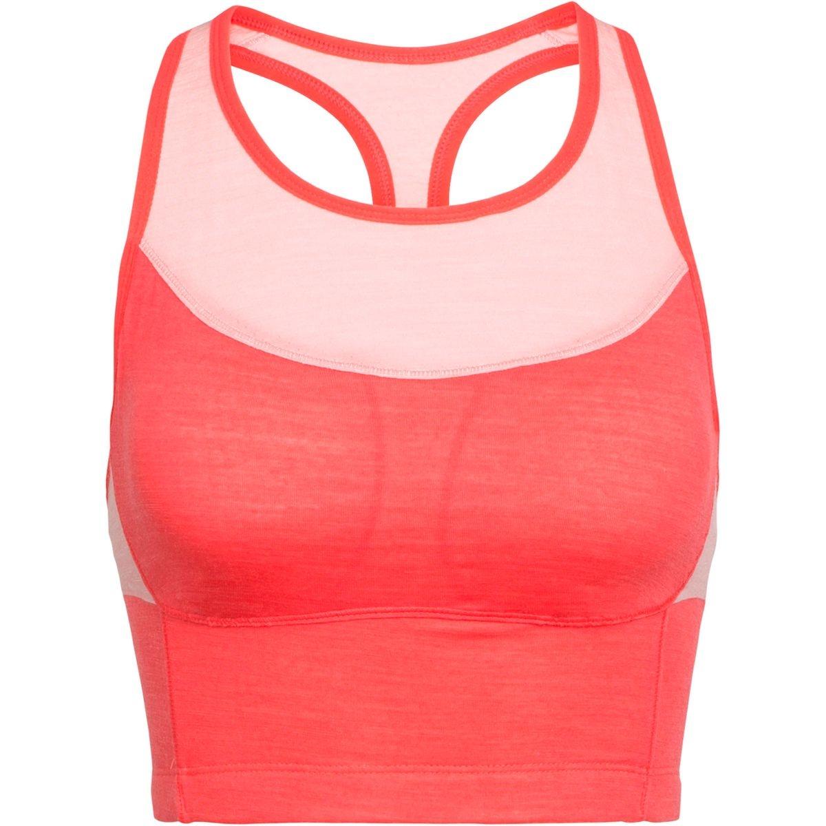 Meld Zone - Brassière de sport Femme - rouge