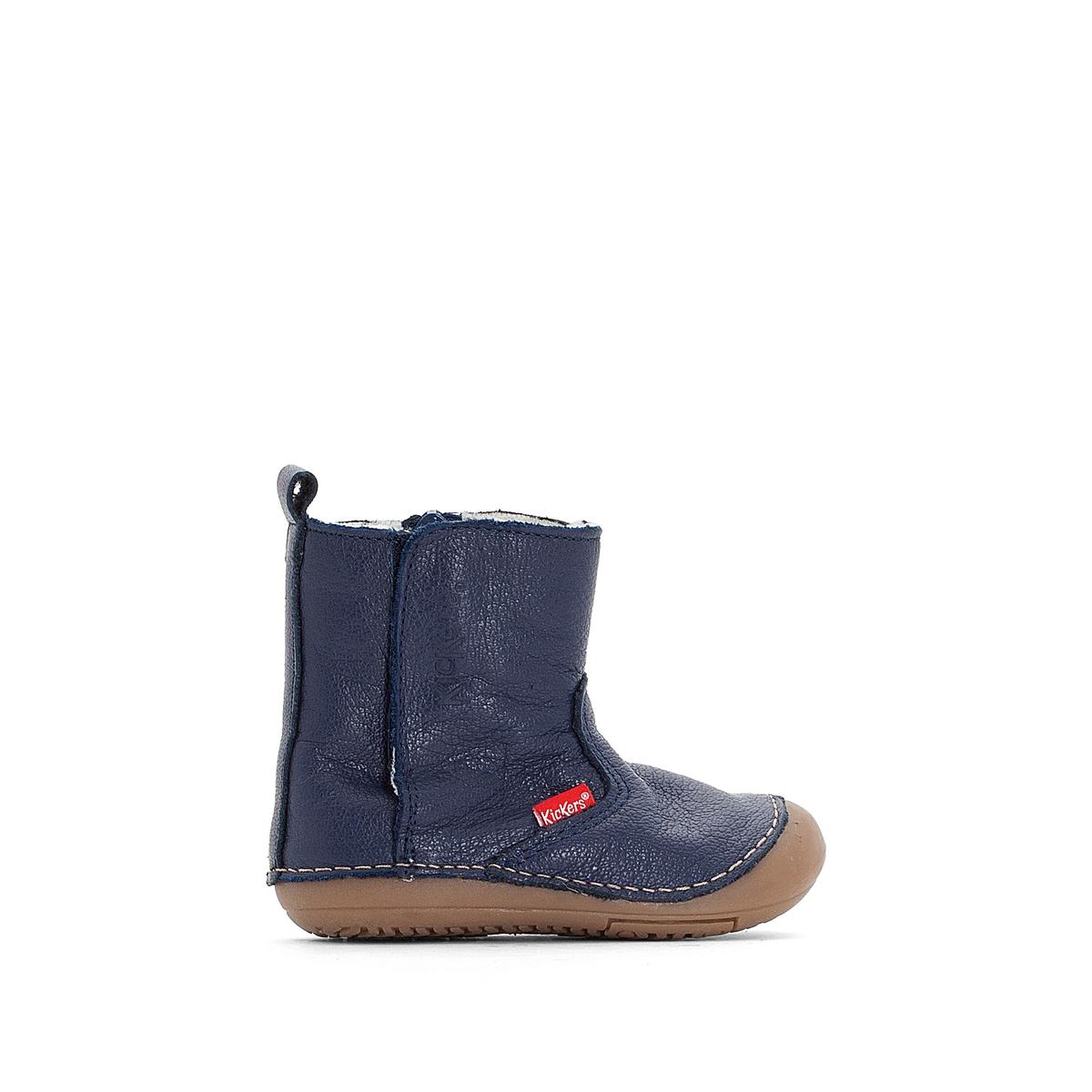 Ботинки из кожи Socool