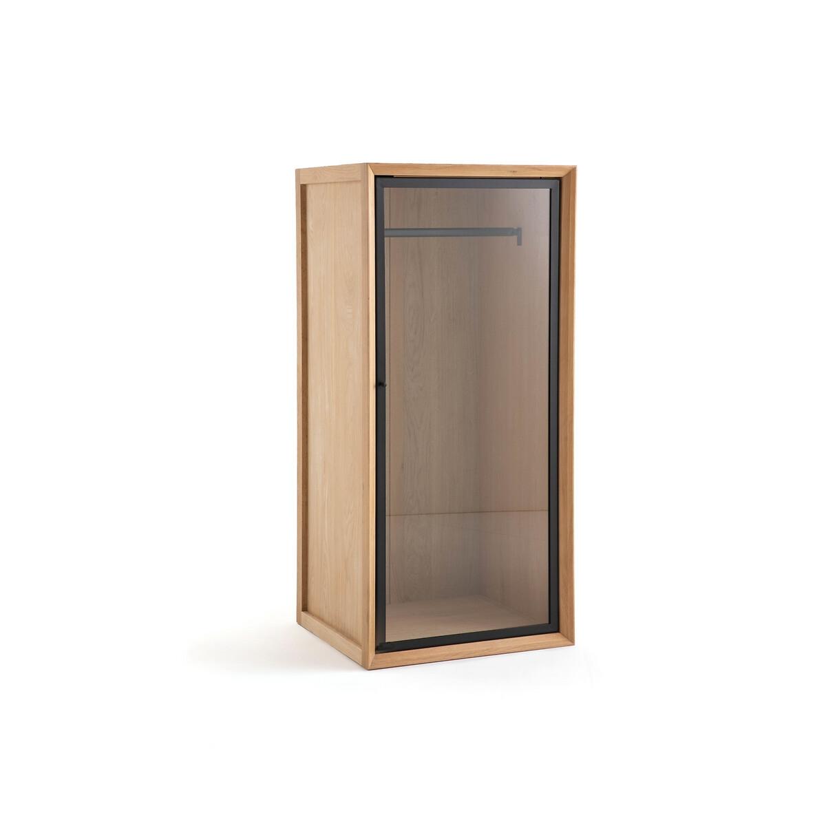 Шкаф LaRedoute Для одежды одинарный верхняя часть Joaquin единый размер каштановый