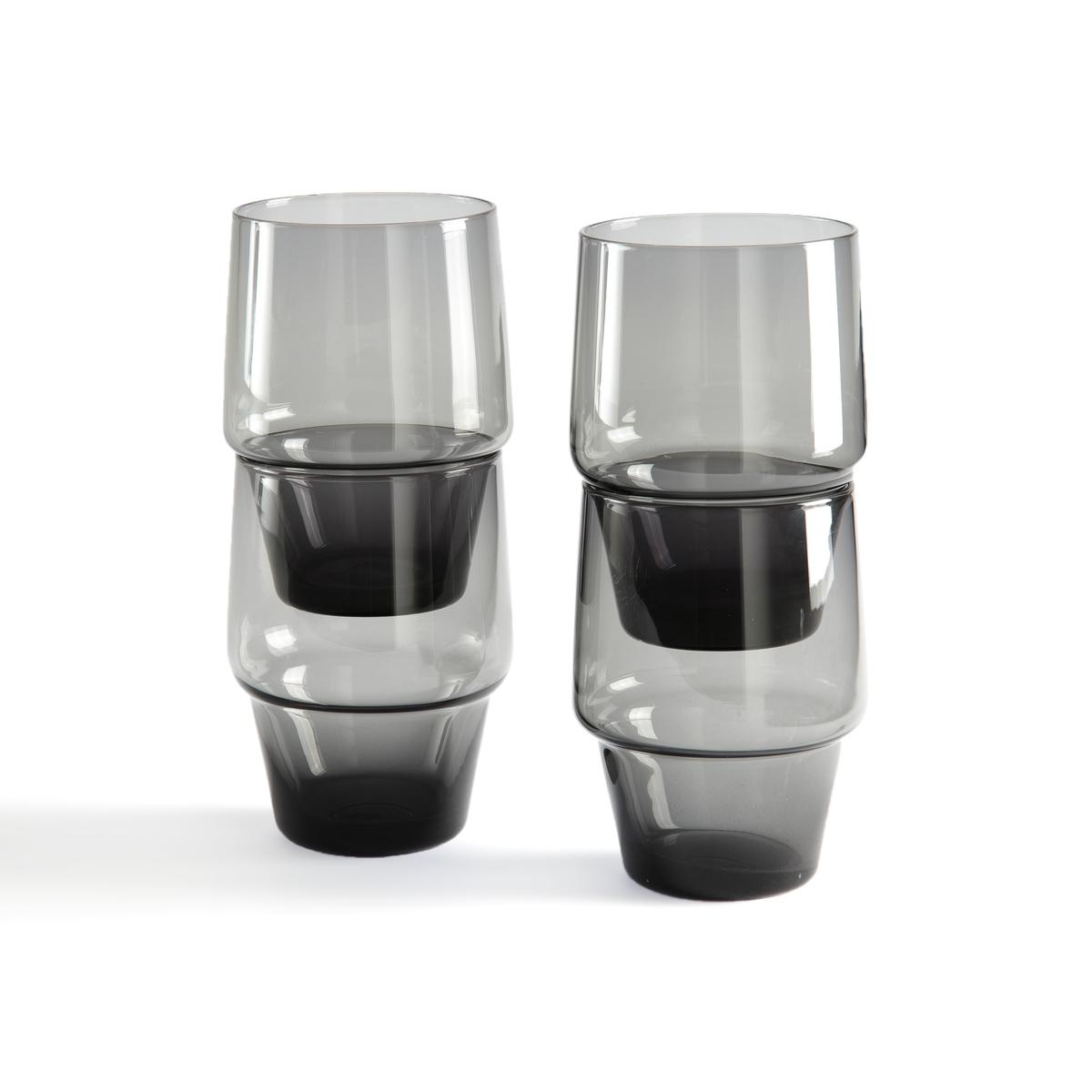 Комплект из 4 бокалов, Moly La Redoute La Redoute единый размер серый комплект из 3 горшков loupi la redoute la redoute единый размер серый