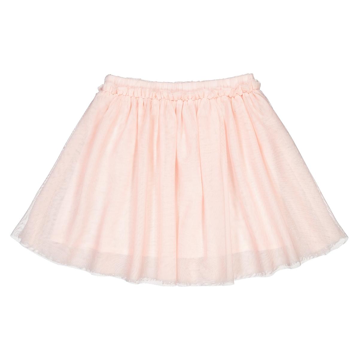Юбка La Redoute Из тюля с блестками 3-12 лет 3 года - 94 см розовый