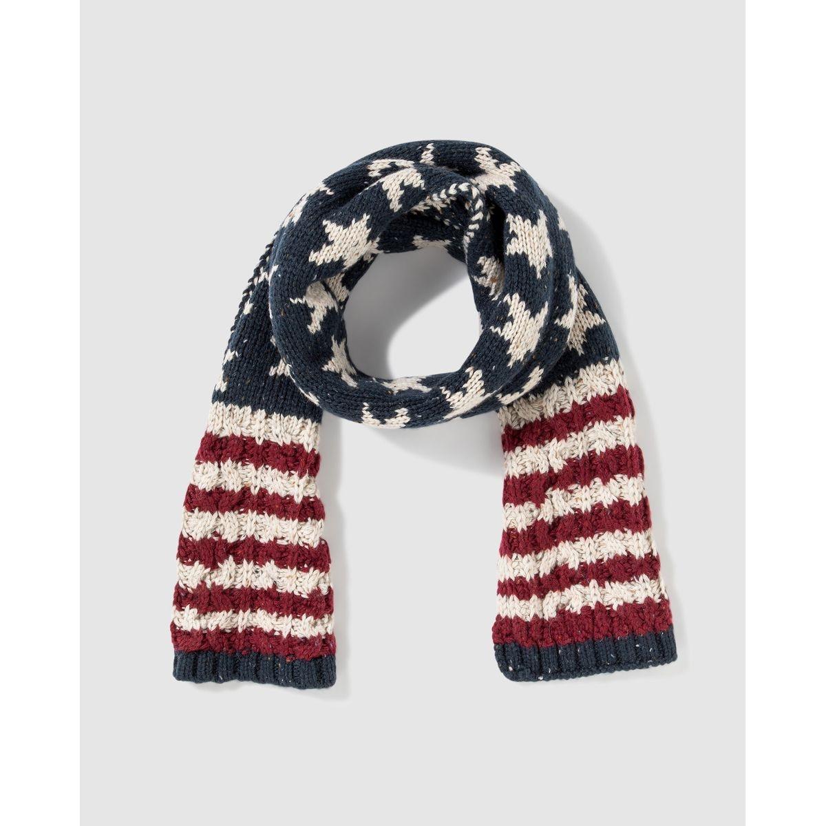 Écharpe avec le drapeau américain