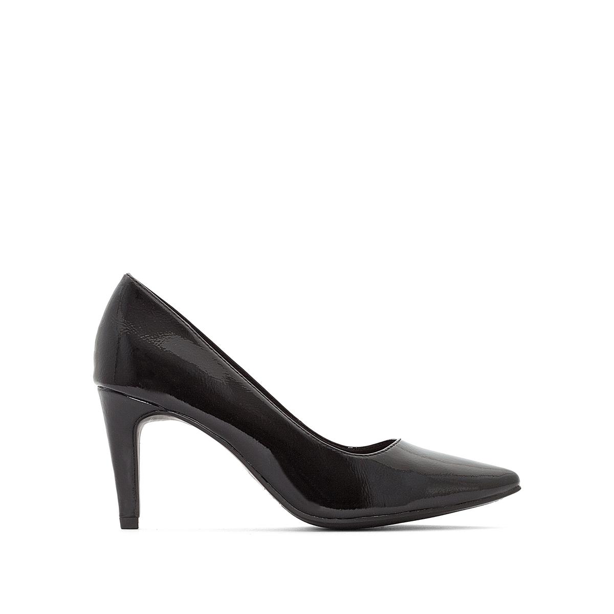 Туфли на шпильке лакированные Seagull canali лакированные туфли