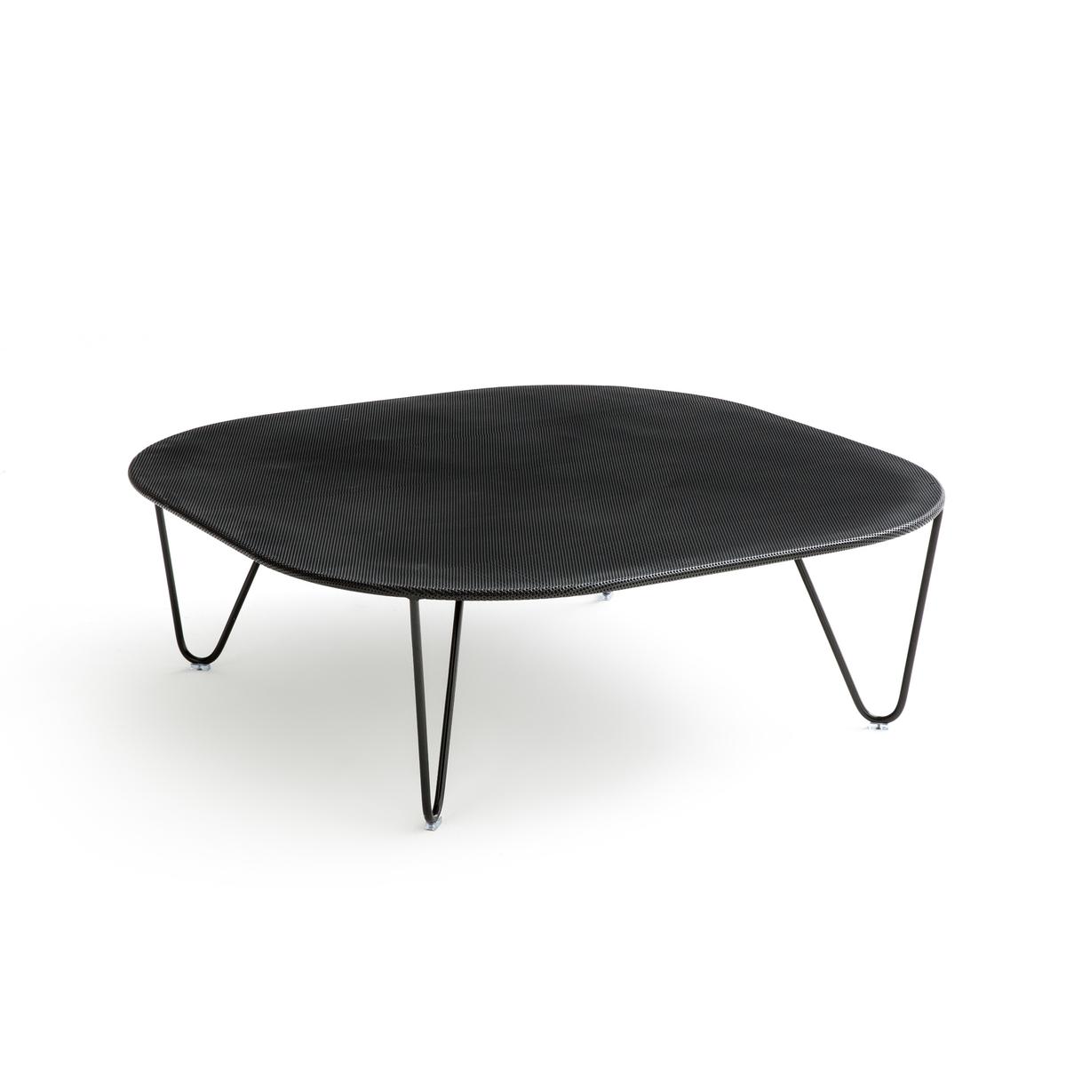Столик LaRedoute Садовый Wallace единый размер черный