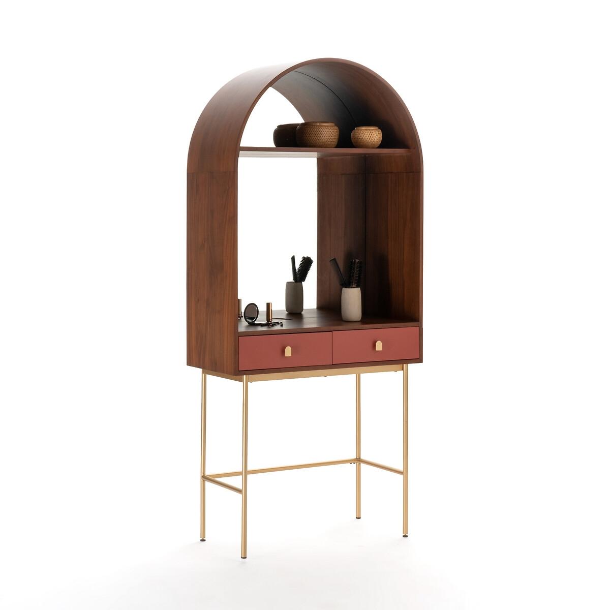 Столик LaRedoute Туалетный в виде арки Malia единый размер каштановый