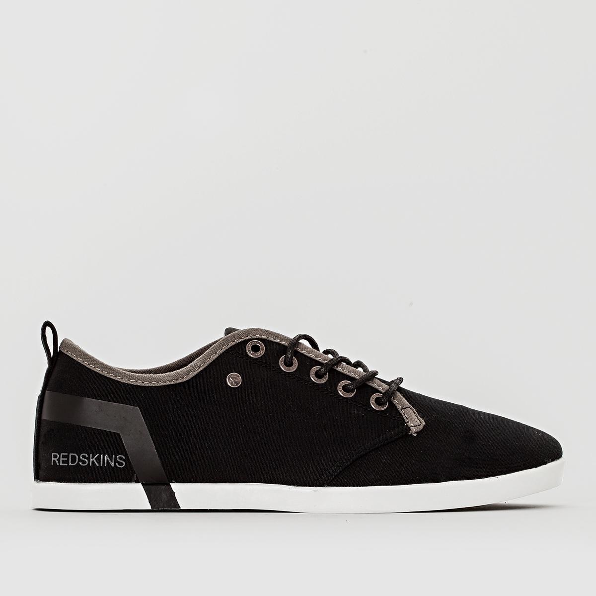 Кеды ZIGORДетали  •  Спортивный стиль •  Плоский каблук •  Высота каблука : 0 см •  Застежка : шнуровка •  Гладкая отделкаСостав и уход  •  Верх 100% текстиль •  Подкладка 100% текстиль •  Стелька 100% кожа •  Подошва 100% эластомер<br><br>Цвет: черный/серый