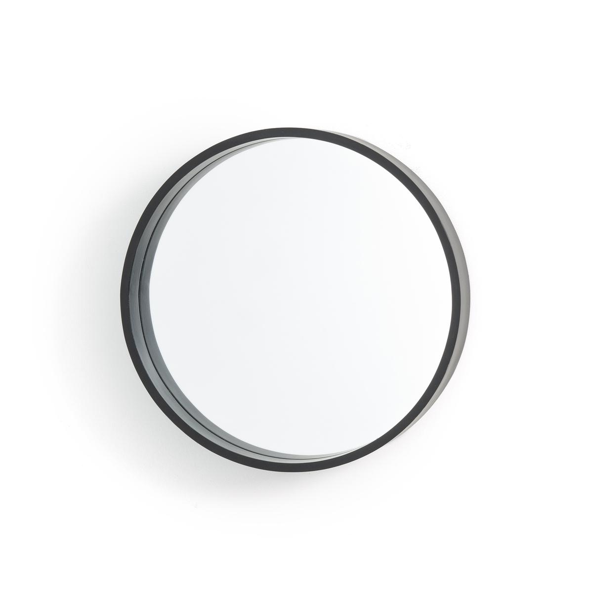 Зеркало La Redoute Круглое см Alaria единый размер черный зеркало круглое alaria