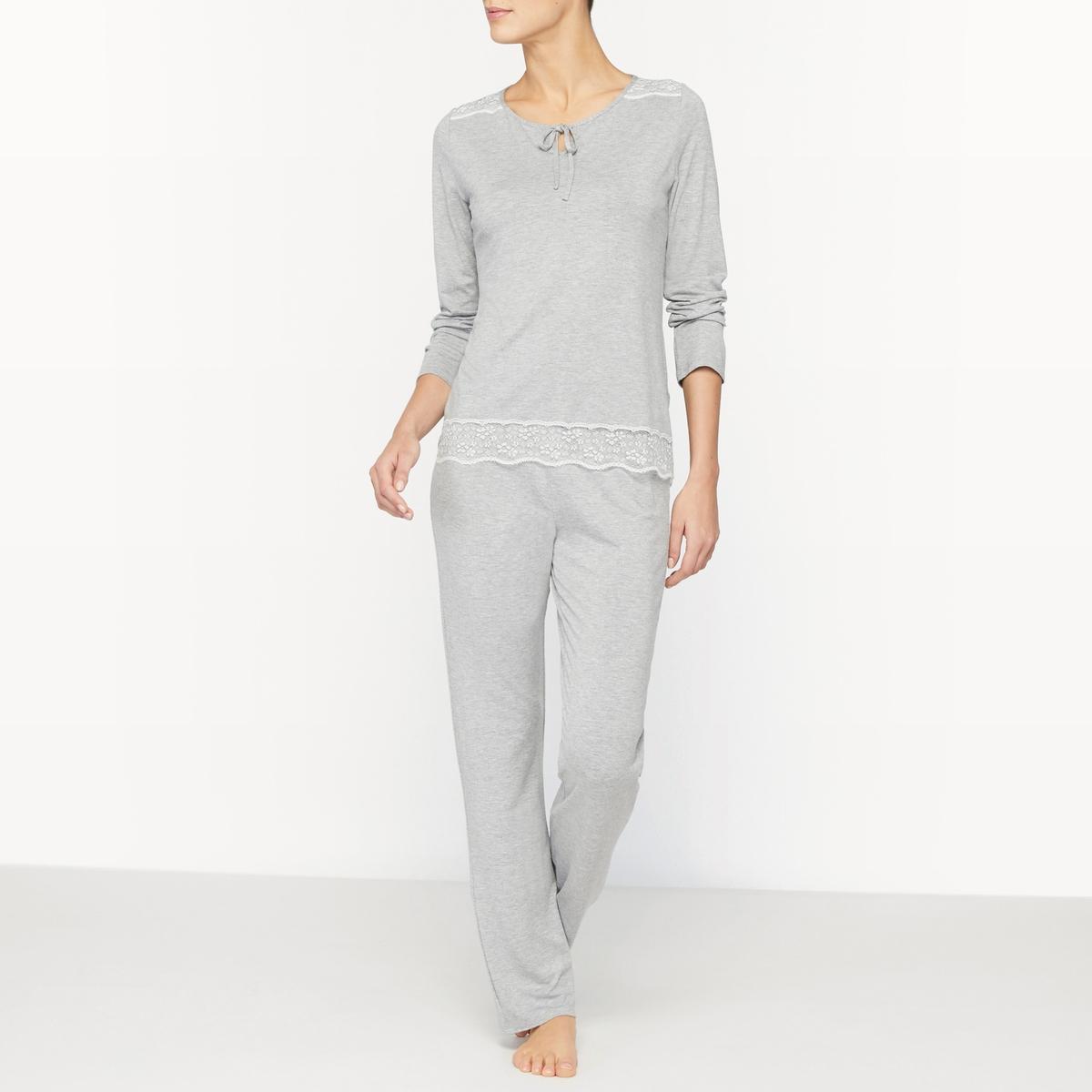 Пижама из джерси Paris пижама из атласа и джерси