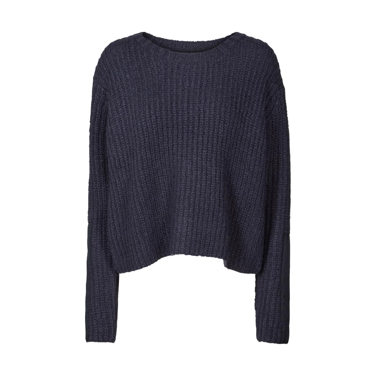 Пуловер из плотного трикотажа с круглым вырезом от AND LESS