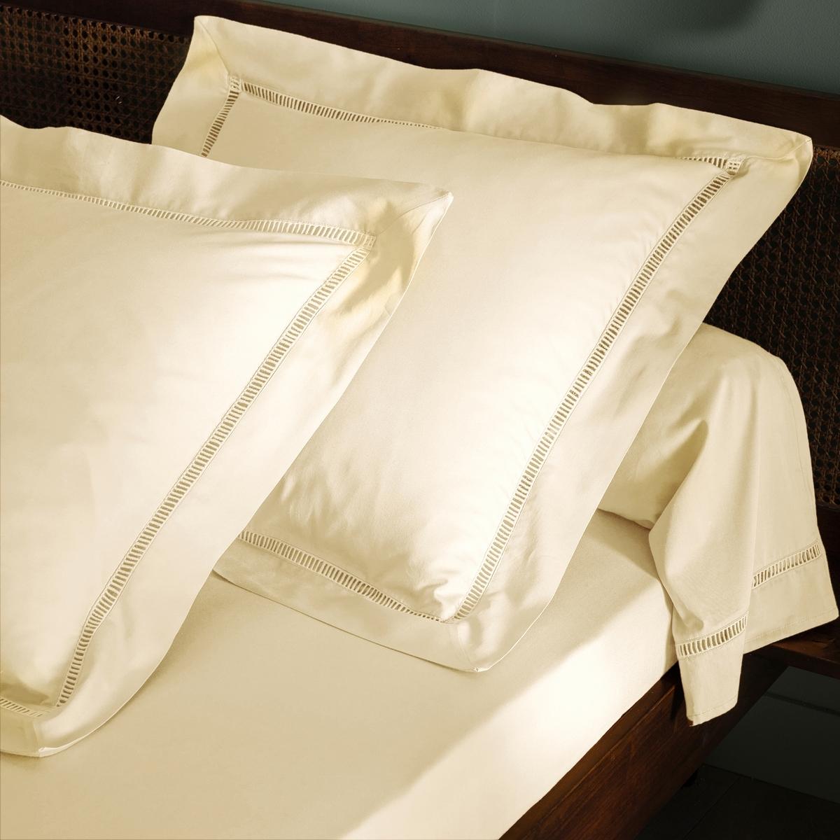 Наволочка стандартная или на подушку-валик, из 100% хлопкового сатина, Constance