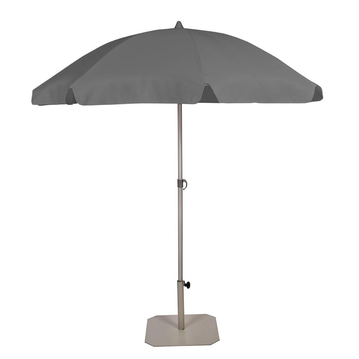 Пляжный наклонный зонт из алюминия, SUNDÉ зонт пляжный 1051 р 300см