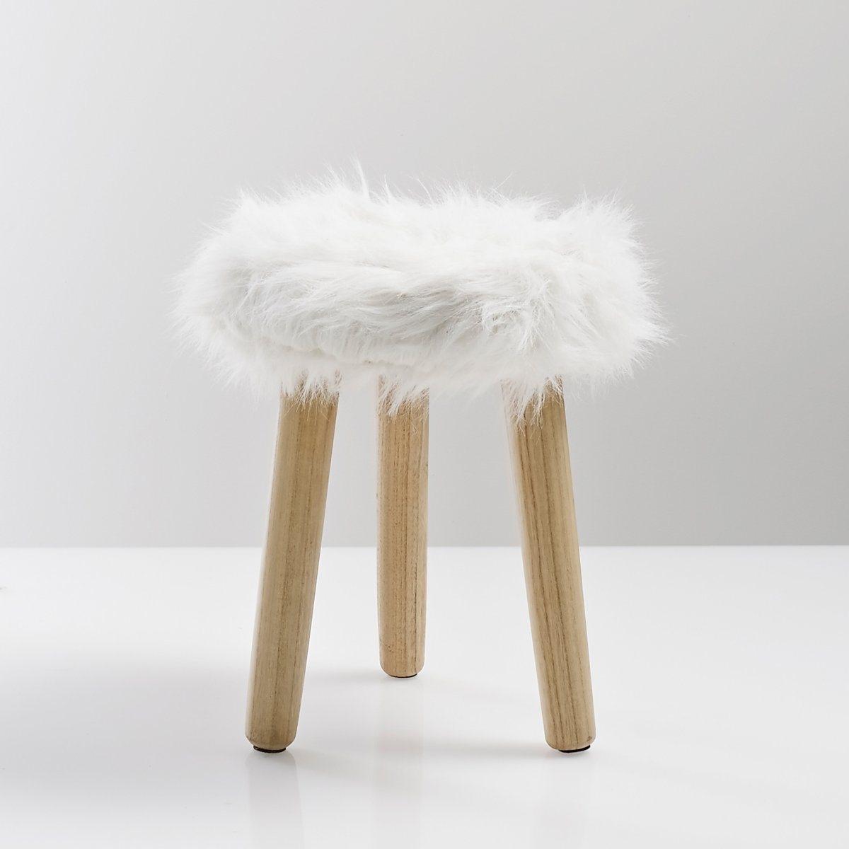 Табурет с сиденьем из искусственного меха, Adas