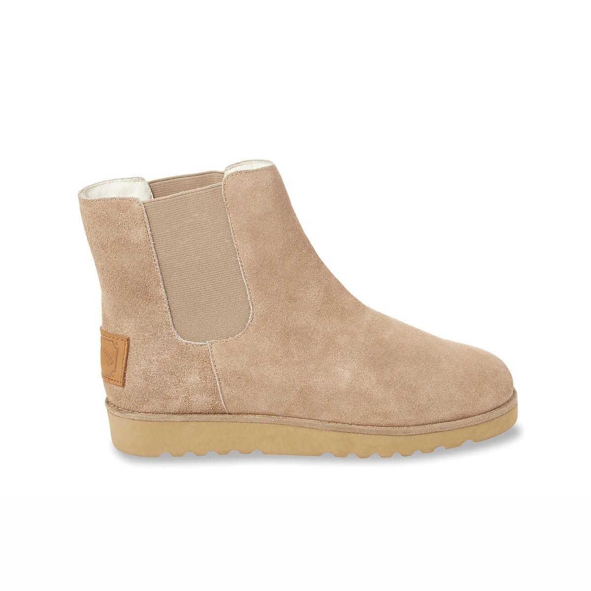 Boots cuir fourrées Cirque