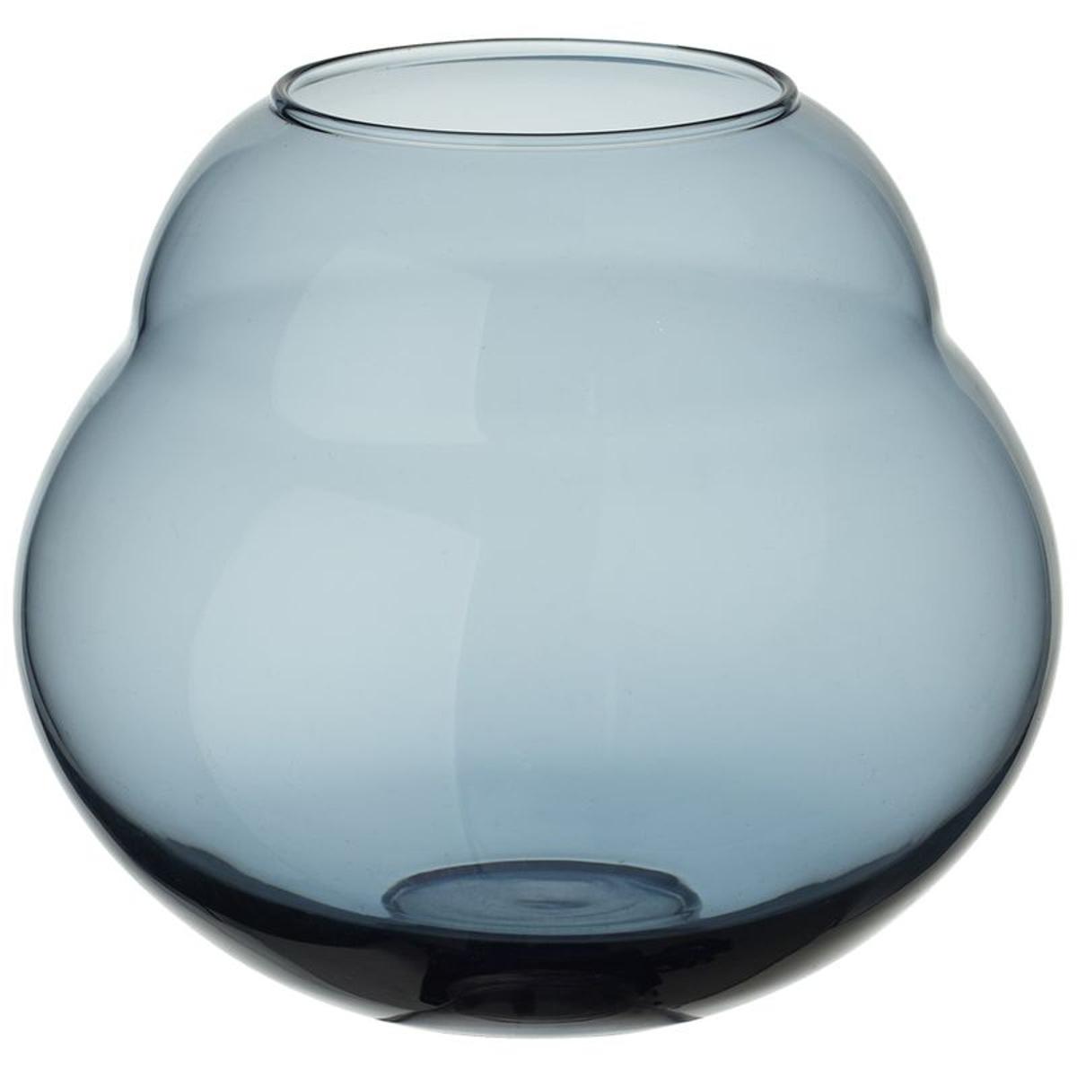 Vase/photophore Jolie Bleue