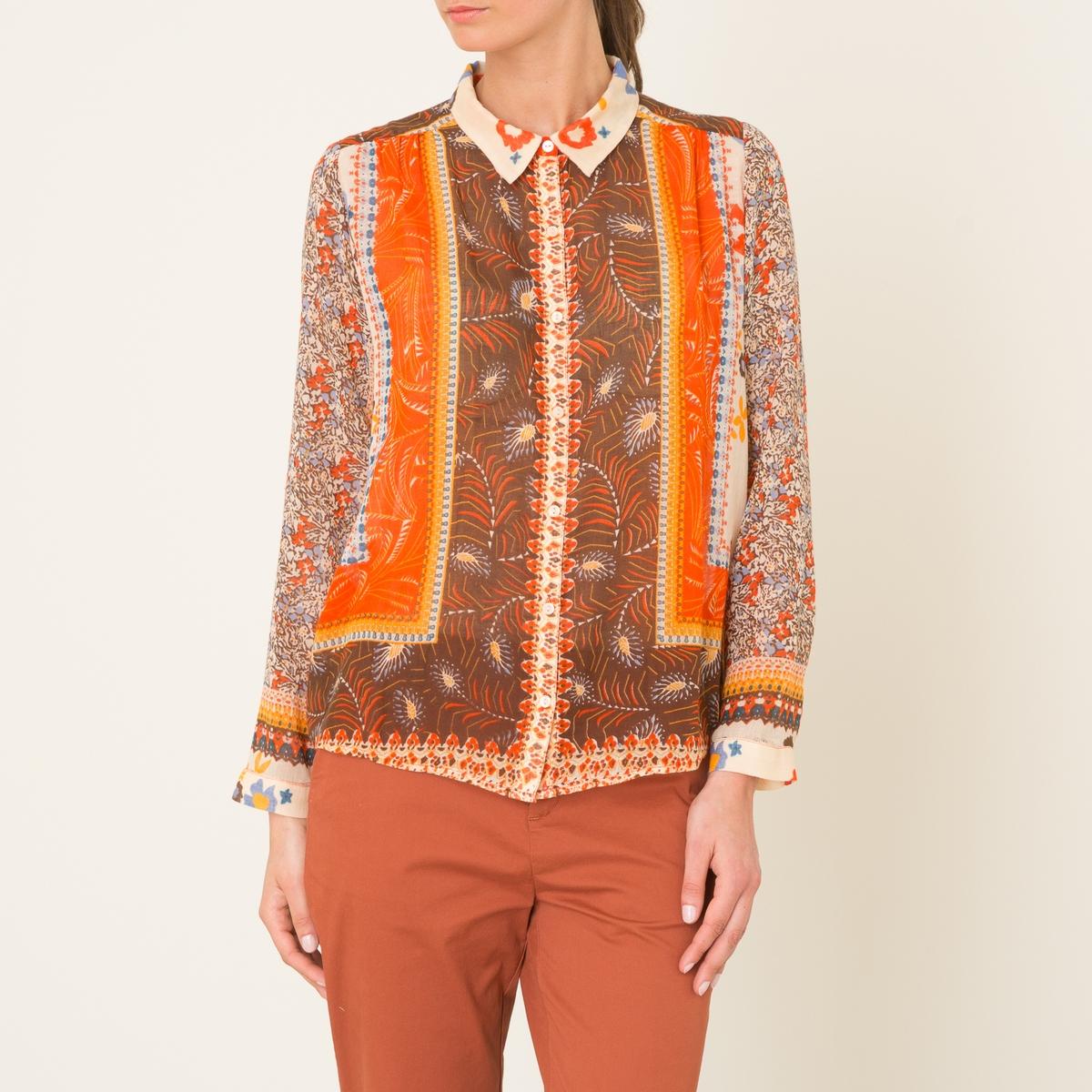 Рубашка ROSSOСостав и описание    Материал : 100% хлопок   Марка : BA&amp;SH<br><br>Цвет: оранжевый