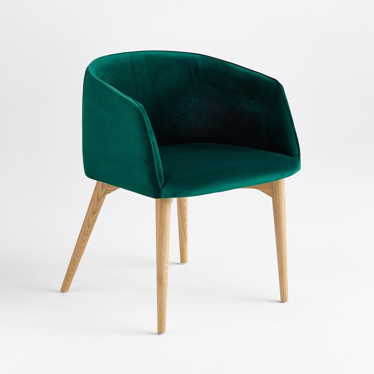 Кресло офисное с обивкой из велюра, Clancy