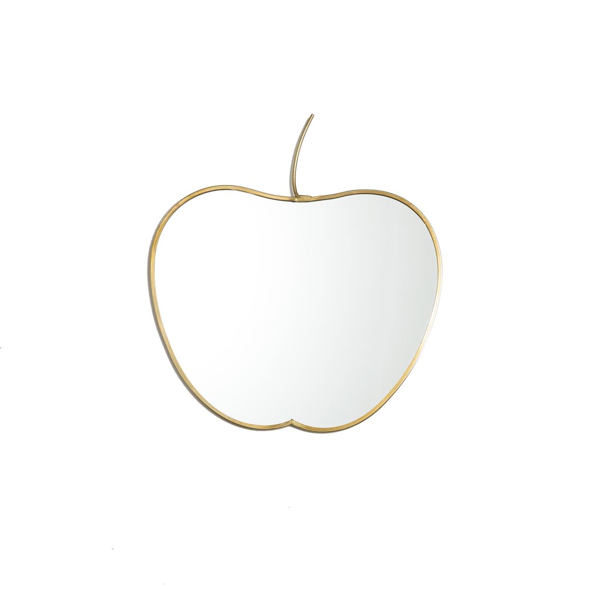 Зеркало La Redoute В форме яблока В см Appuru единый размер желтый зеркало la redoute из ротанга в форме яблока nogu единый размер бежевый