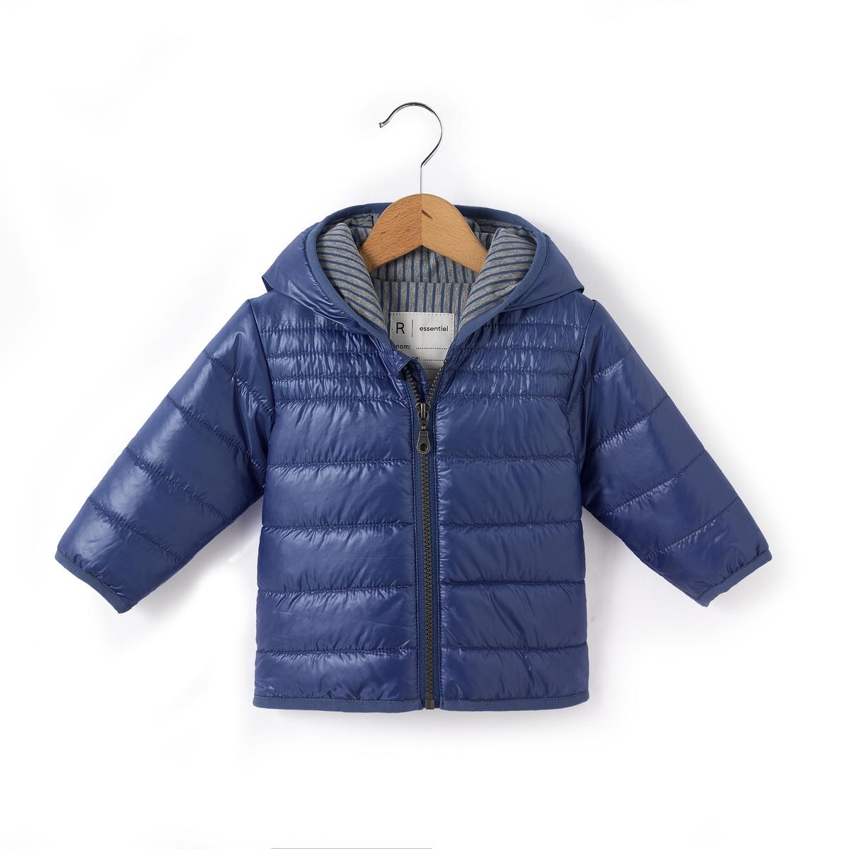Куртка стеганая тонкая с капюшоном, 1 мес. - 3 года