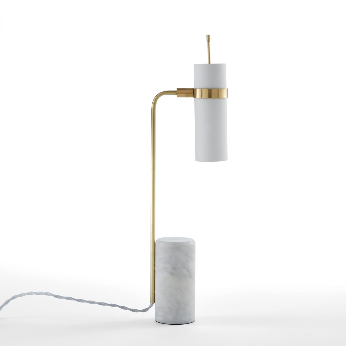 Лампа настольная, Isaure бра из черного металла и металла с отделкой под латунь elori