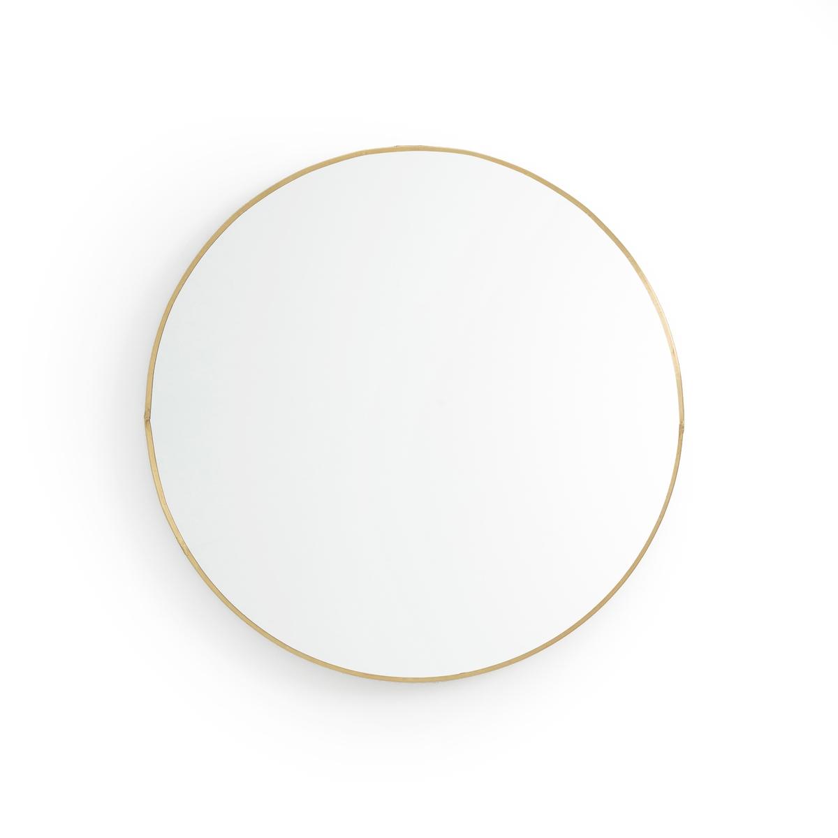 Зеркало La Redoute Круглое см Uyova единый размер другие зеркала la redoute uyova в форме домика единый размер желтый