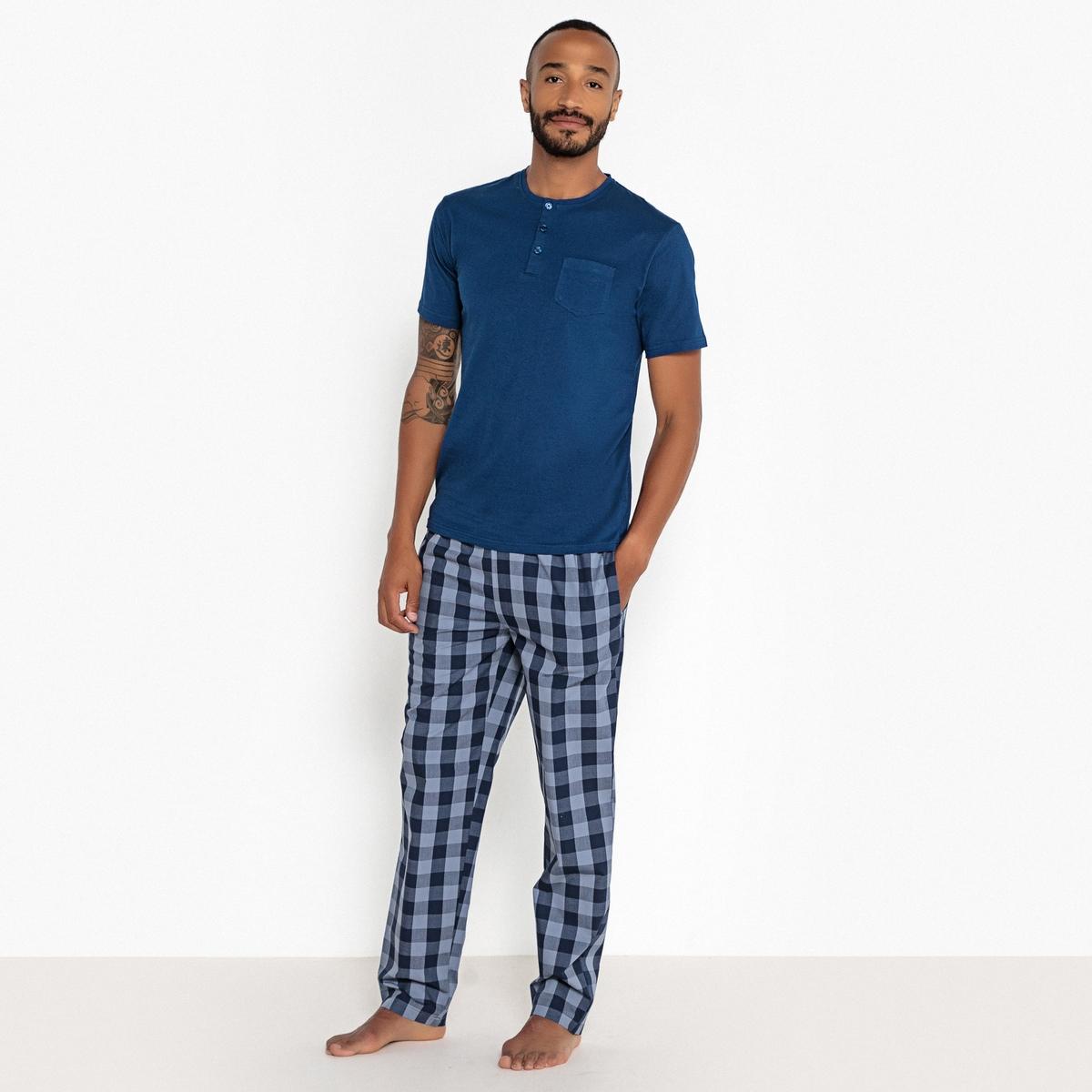 Пижама из 2 предметов, длинная, с рисунком пижама с шортами с рисунком