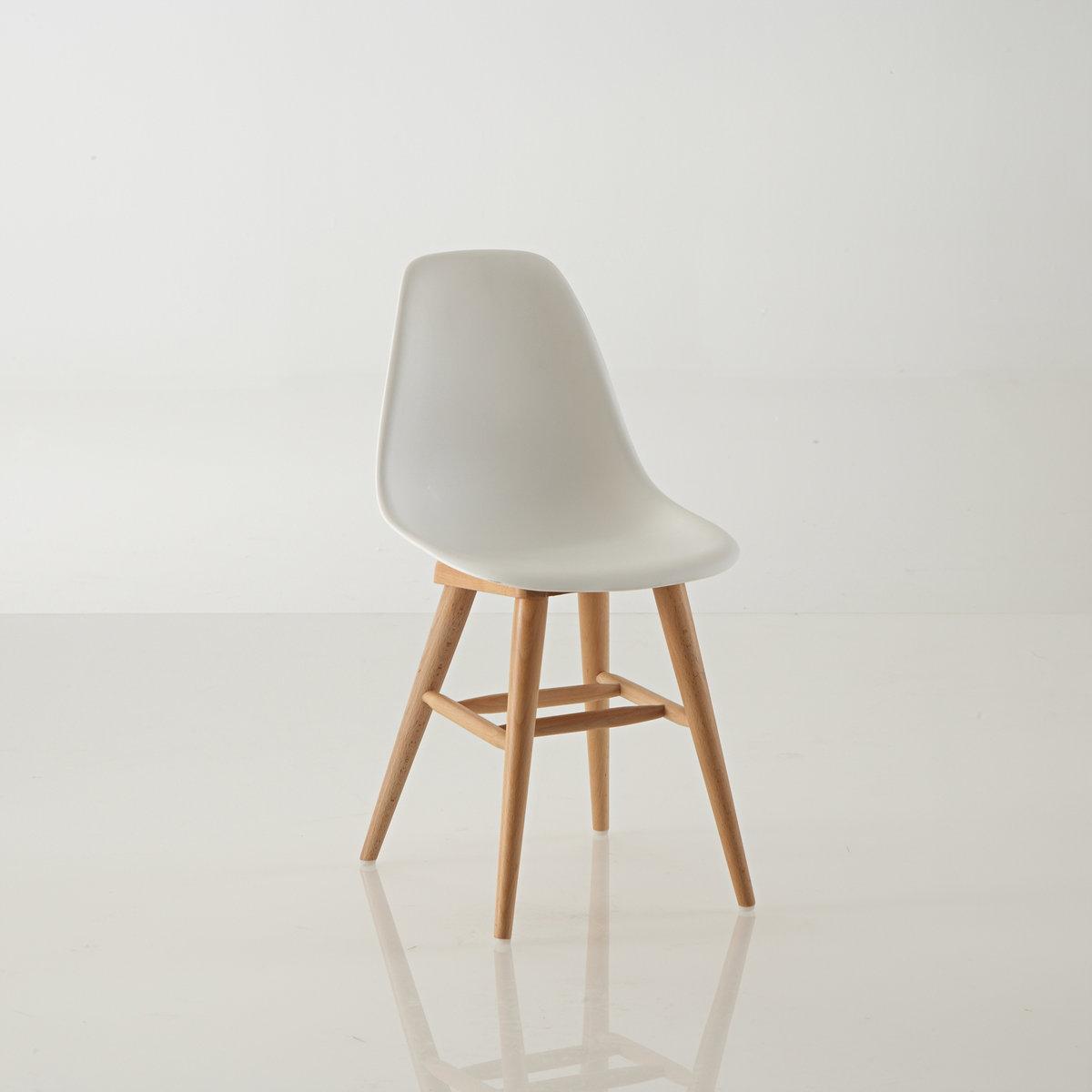 Стул с пластиковым покрытием детский, JimiХарактеристики детского стула Jimi:Покрытие из пластика.Сиденье из АБС*Ножки из бука с НЦ-лакировкой.Пластиковые вставки на ножках.* Акрилонитрил бутадиен стирол или АБС - термопластичный полимер, обладающий хорошей устойчивостью к ударам, относительно жесткий и легкий, который можно отливать в формах . Относится к классу стироловых полимеров.Это вторично перерабатываемый материал.Благодаря своим хорошим свойствам таким, как красивый внешний вид, габаритная стабильность, простая окраска, АБС часто применяют в качестве покрытия в области производства электро-бытовой техники, игрушек, дорожных чемоданов и в области телефонии.Вся коллекция   Jimi на сайте laredoute.ru.Размеры детского стула Jimi:Длина: 31 смВысота: 60,5 смГлубина: 35 смВысота сиденья: 33 смРазмеры упаковки:1 упаковка37 x 41 x 36 см 3,1 кгДоставка на домДетский стул Jimi продается готовым к сборке Ваш товар будет доставлен по назначению, прямо на этажВнимание! Пожалуйста, убедитесь, что упаковка пройдет через проемы (двери, лестницы, лифты)<br><br>Цвет: белый