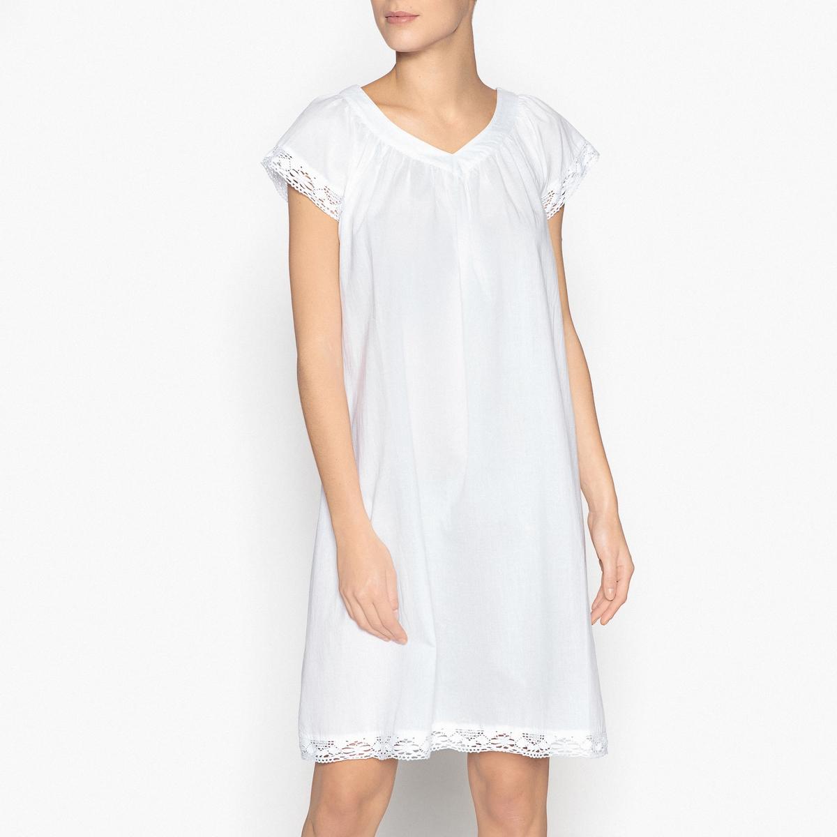Сорочка ночная из кружева